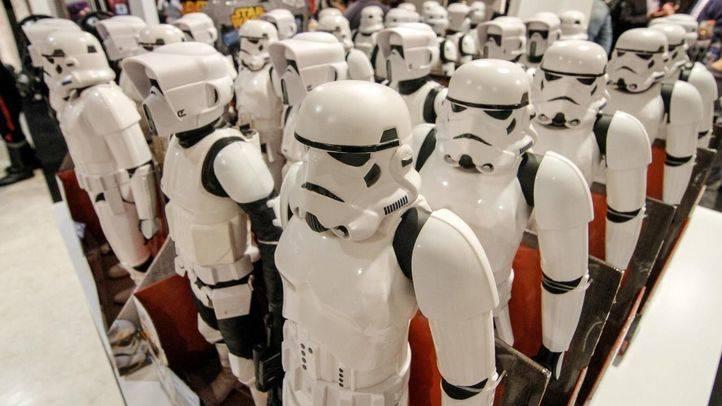Exposición sobre la saga cinematográfica Star Wars (archivo)