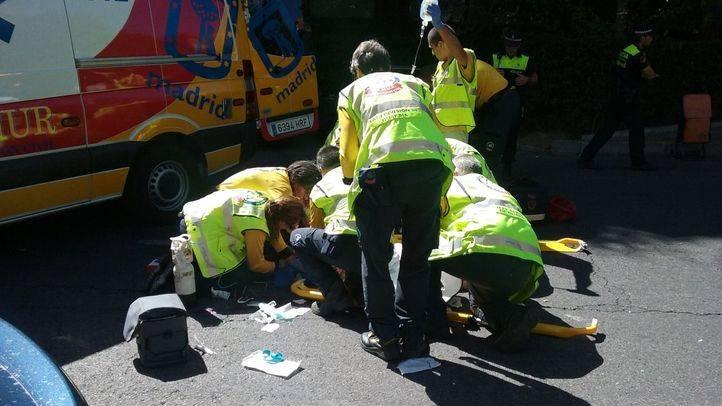 Muy grave una anciana tras ser atropellada en el distrito de Salamanca