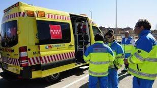 Herido grave un motorista al sufrir un accidente en el interior de un túnel