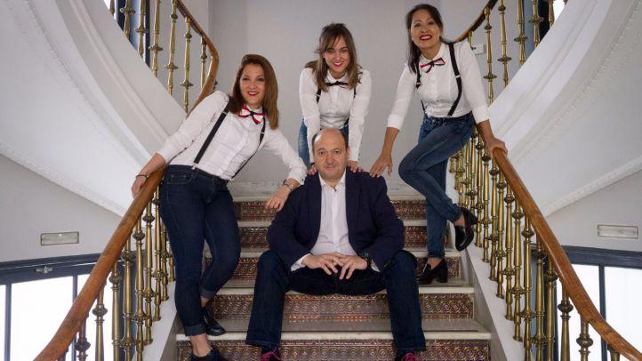 Damas Swing, una versión innovadora de los clásicos de Lola Flores o Raphael