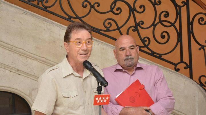 Jaime Cedrún, CCOO, y Carmelo Ruiz de la Hermosa, UGT