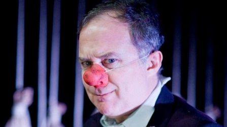 Luis Bermejo da vida al payaso que inicia la temporada del Teatro Español