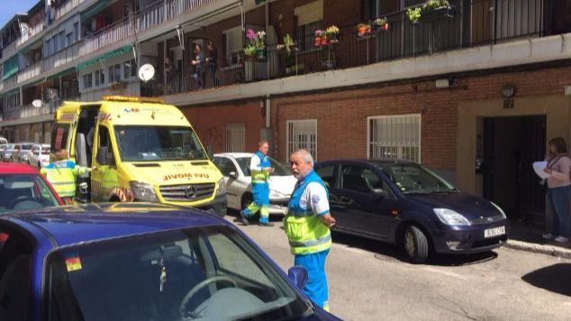 Los servicios de emergencias cuando acudieron al lugar de los hechos