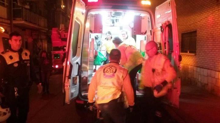 Herido grave en Villaverde al incendiarse su habitación