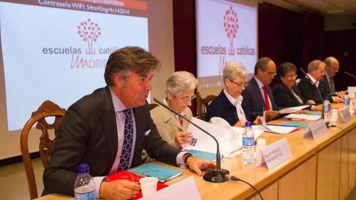 Asamblea anual de la federación de Escuelas Católicas de Madrid