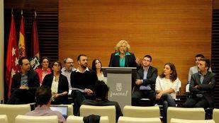 Manuela Carmena hace balance de los primeros 100 días