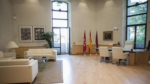 Despacho de Manuela Carmena en el Ayuntamiento de Madrid