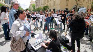 La Asamblea aprueba recuperar la financiación de las escuelas de música