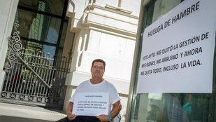Un afectado por el proyecto de Los Berrocales inicia una huelga de hambre tras sufrir dos embargos