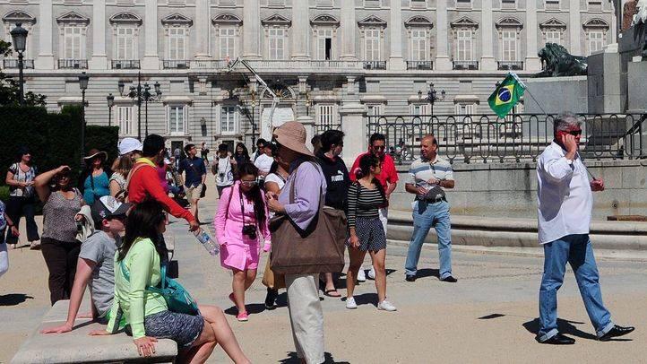 Crece más de un 11% la llegada de los turistas internacionales a Madrid hasta agosto