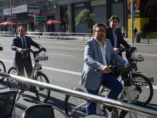 Aguirre, en contra del cierre al tráfico en Gran Vía: 'Con prohibiciones no vamos a ningún lado'