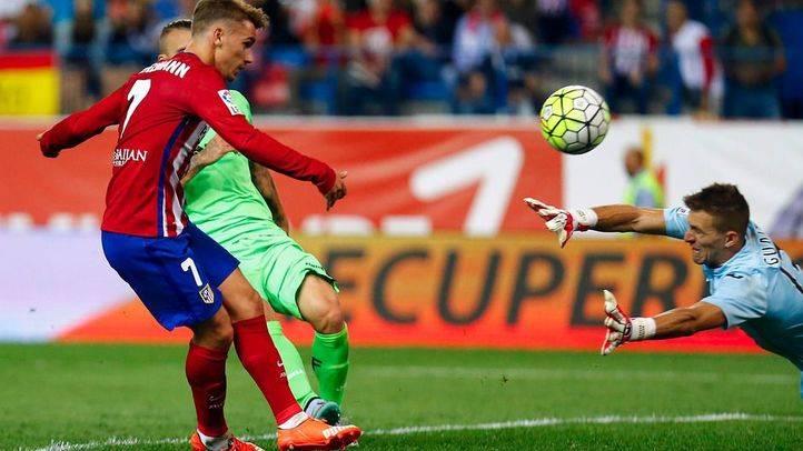 Griezmann deja al Atlético como líder provisional