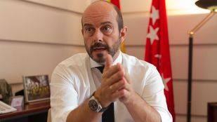 Pedro Rollán, consejero de Transportes y Vivienda de la Comunidad de Madrid