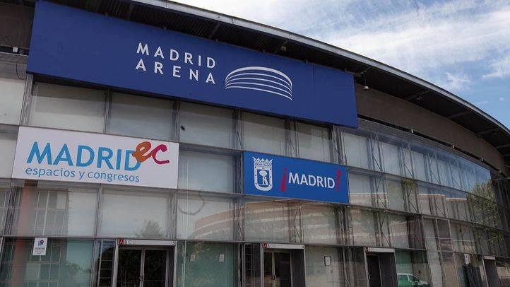 El pabellón Madrid Arena (archivo).
