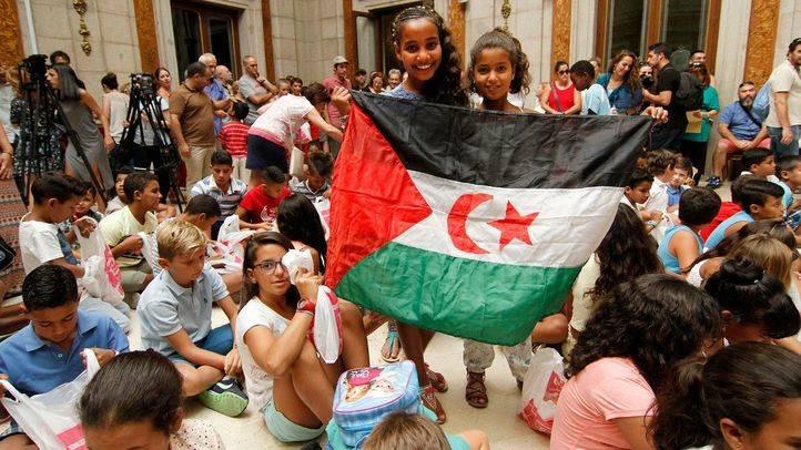 Casi 300 menores saharauis serán acogidos por familias madrileñas este verano