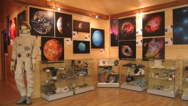Interior del Museo Lunar