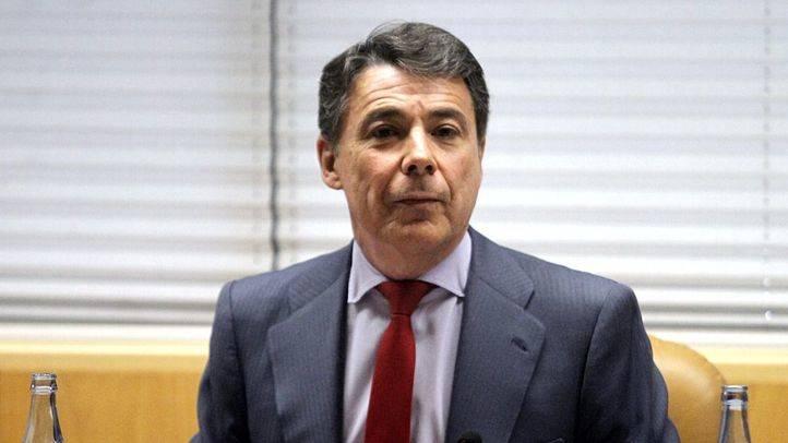 Ignacio González comparece en la comisión de investigación de la corrupción en la Asamblea de Madrid.