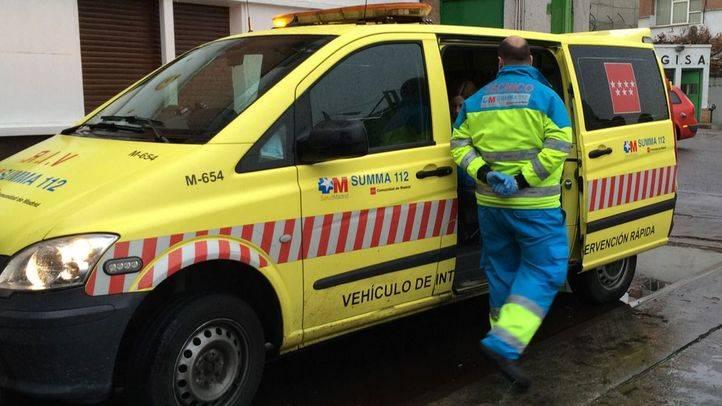 Herido un hombre al recibir un disparo en el garaje de su casa en Vicálvaro