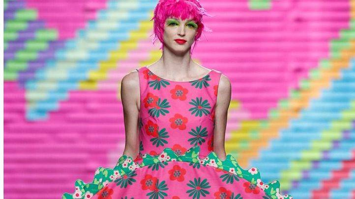Desfile de Agatha Ruiz de la Prada en la Mercedes-Benz Fashion Week Madrid.