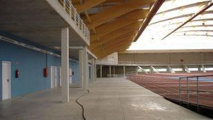 Intervención de urgencia en el polideportivo Gallur