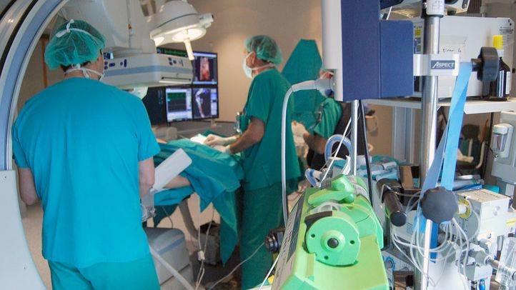 Operación quirúrgica en La Paz (archivo)