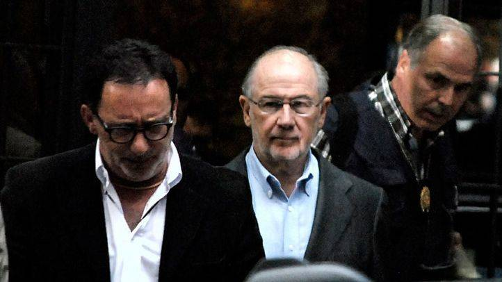 En libertad la secretaria de Rato y su testaferro tras declarar ante el juez