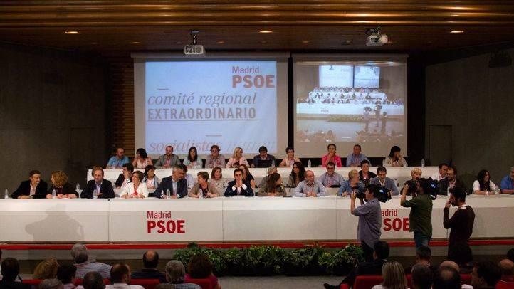 El Comité Regional del PSOE-M aprueba las listas para las generales con un 95,5 por ciento de votos a favor
