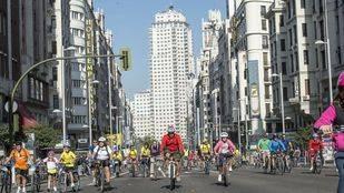Más de 100.000 ciclistas se reúnen este domingo en la 37 Fiesta de la Bicicleta