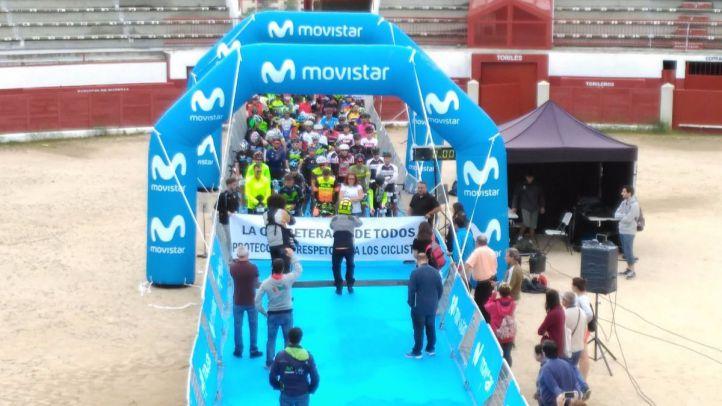 Herido grave un ciclista de la prueba 'Desafío Puertos de Guadarrama'