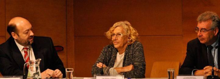 Manuela Carmena en las XIII jornada de Medio Ambiente