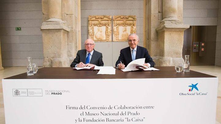 Convenio de colaboración entre Obra Social La Caixa y el Museo del Prado