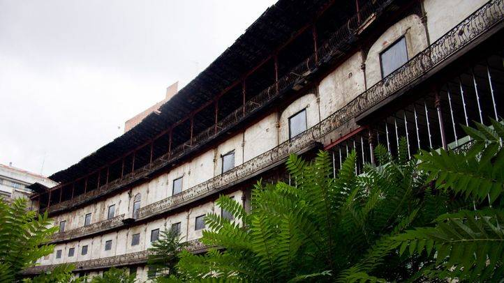 Frontón Beti-Jai, estadio de pelota vasca de finales del siglo XIX, en pleno barrio de Chamberí.