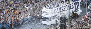 Paseo triunfal por Madrid