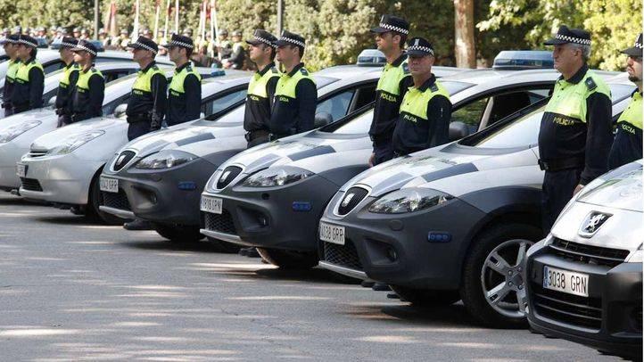 Miembros de la Policía Municipal de Madrid