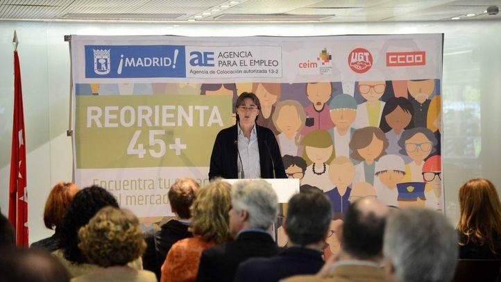 Marta Higueras inaugura la jornada 'Reorienta 45+'