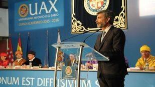 Carlos Lesmes en la inuauguración del curso de la UAX