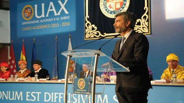La UAX dedica el inicio de curso académico a la Justicia