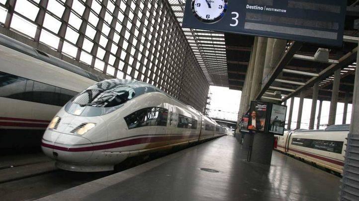 Unos 7.000 pasajeros del AVE se han visto afectados por el robo de fibra óptica