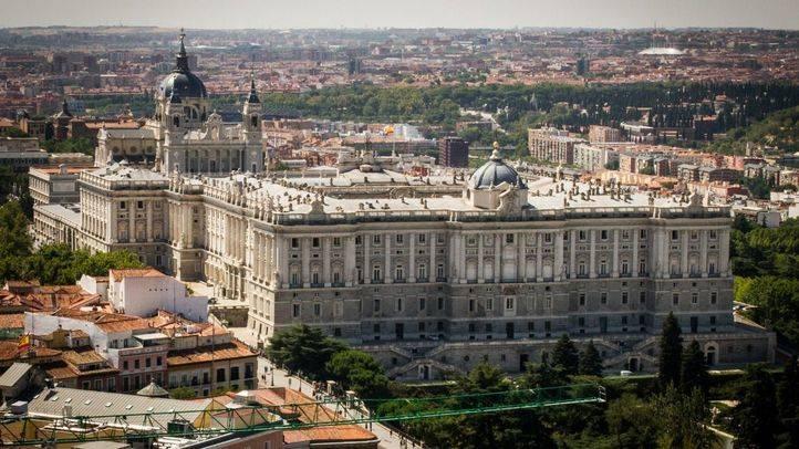 Palacio Real y Catedral de la Almudena.