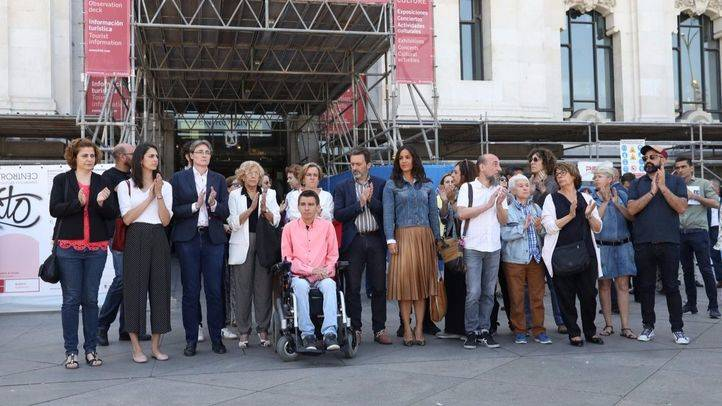 Madrid, en silencio en contra del terrorismo