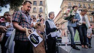 Teresa Romero reaparece en el aniversario de la muerte de su perro Excalibur