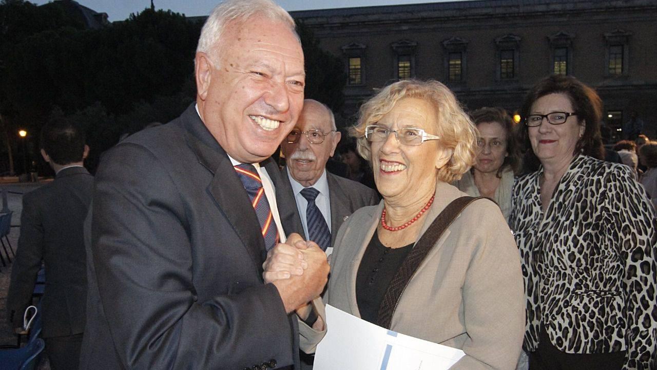 Resultado de imagen de José Manuel García Margallo a esperanza aguirre