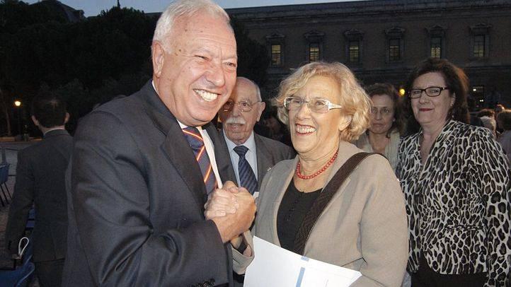 José Manuel García-Margallo y Manuela Carmena