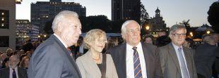 José Manuel García-Margallo, Manuela Carmena y Carlos Espinosa de los Monteros