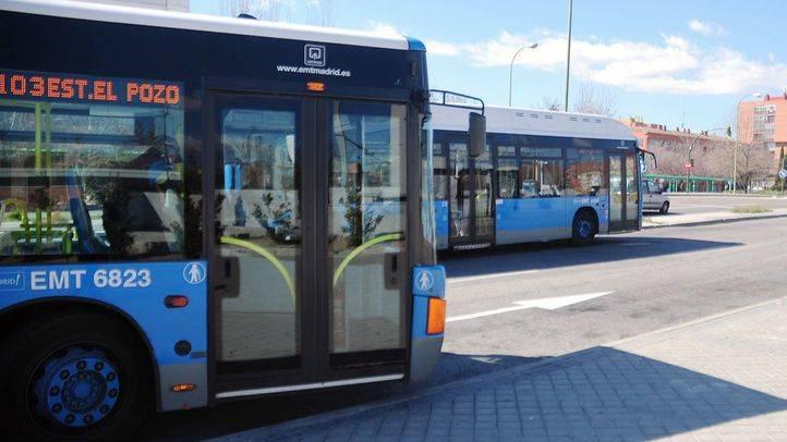 El Consorcio Regional de Transportes prolonga el itinerario de la línea 176 de EMT en Las Tablas