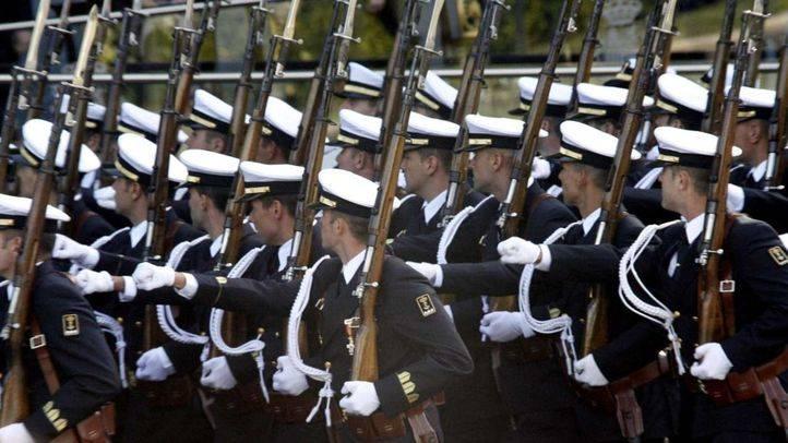Desfile militar del 12 de octubre, Día de la Hispanidad (archivo)