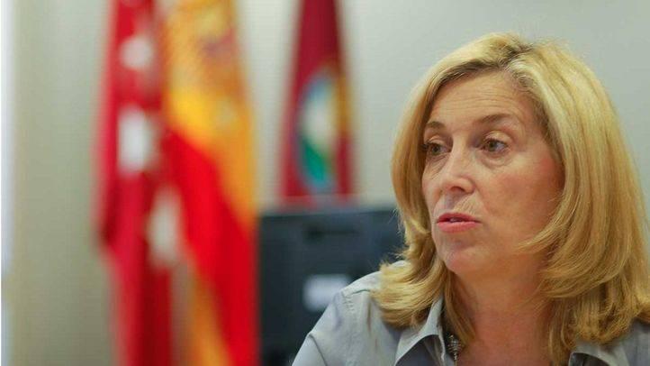 Concepción Dancausa durante una entrevista en una imagen de archivo.