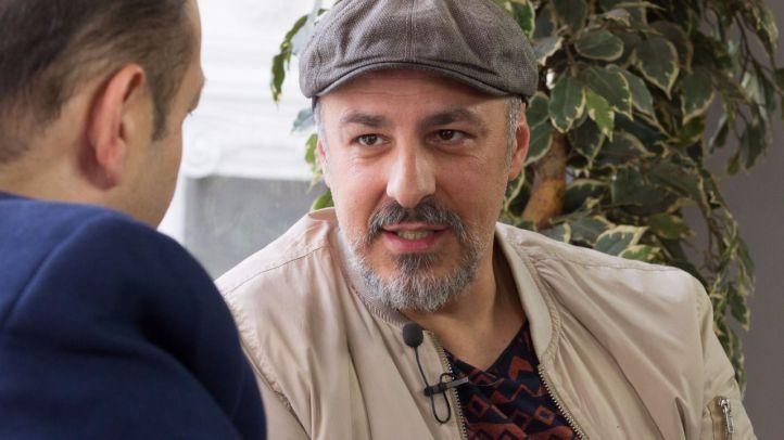 Entrevista a Roberto Álamo, Premio Hombre del Año en los Premios Madrid, en la Terraza de Gran Vía.