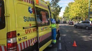 Herida muy grave una mujer de 70 años tras ser atropellada por una furgoneta en Leganés