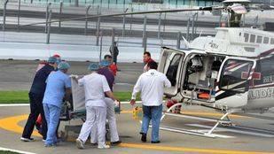 Pole para Rosbreg, accidente de Sainz y ruina de Alonso